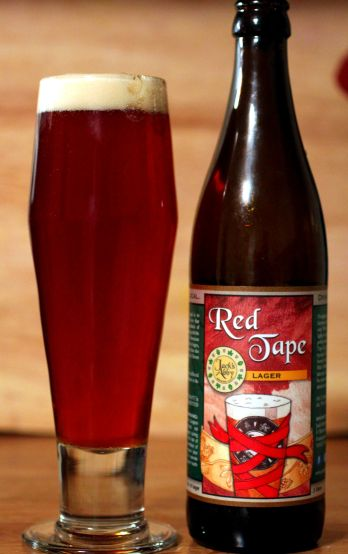 Jacks Abby Red Tape Lager