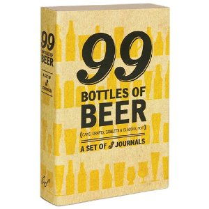 Beer journal set