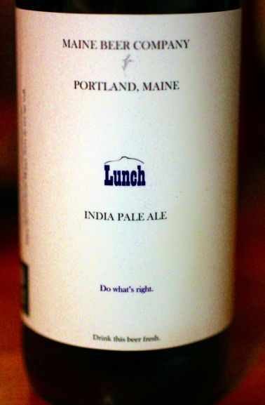 Maine Beer Company Lunch