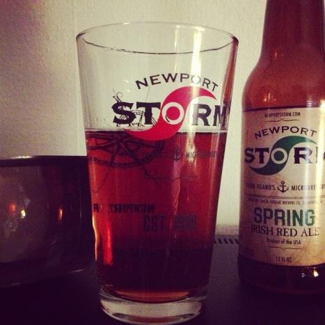 Newport Storm Irish Red