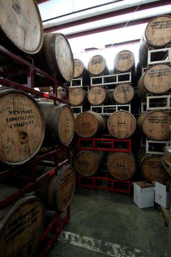 Barrel Room at Newport Storm